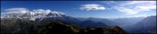 Mont Blanc depuis la Pointe Noire de Pormenaz
